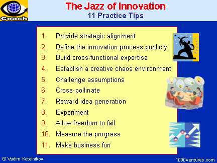 creativity and innovation assignment strategies for Creativity and innovation addresses ways of doing things better and differently   theories about the causes of creativity lead to different strategies to facilitate it.