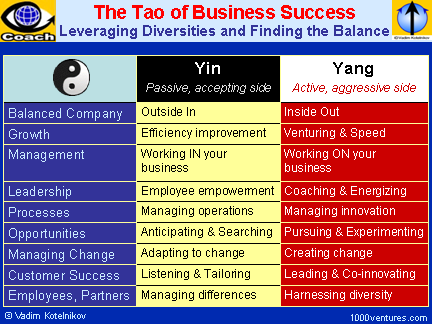 Tao of Business Success (Yin and Yang of Business Success)