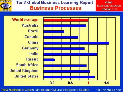 BUSINESS PROCESS MANAGEMENT (Ten3 Global Business Learning Report - South Africa, Australia, UK, USA, Brazil)
